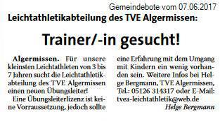 2017_06_07_gemeindebote_trainersuche_leichtathletik