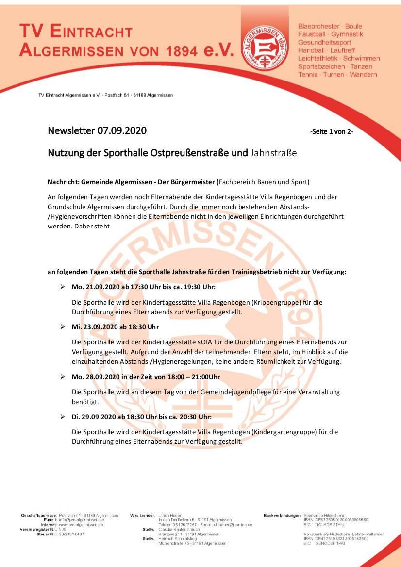 2020_09_07_newsletter_sperrung_hallen_uebungsbetrieb